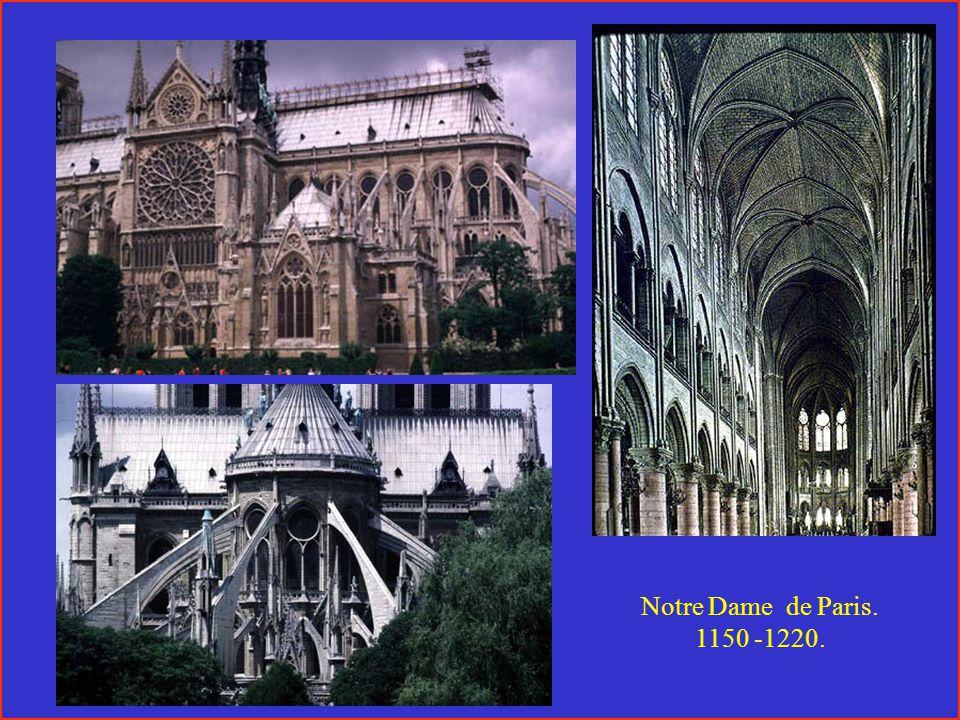 Notre Dame de Paris. 1150 -1220.