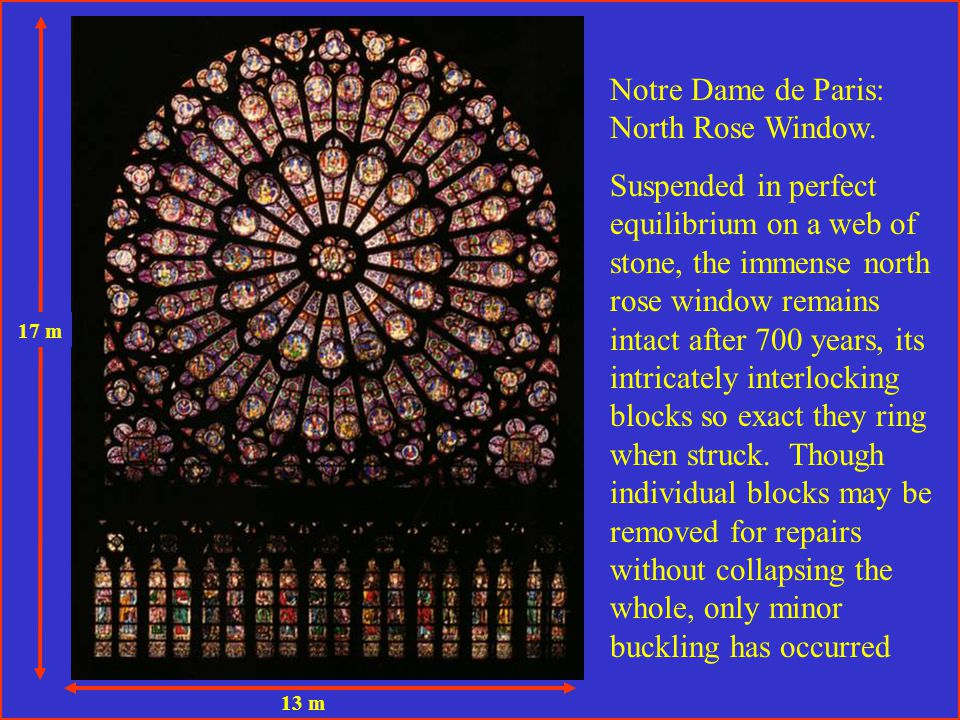 Notre Dame de Paris: North Rose Window.