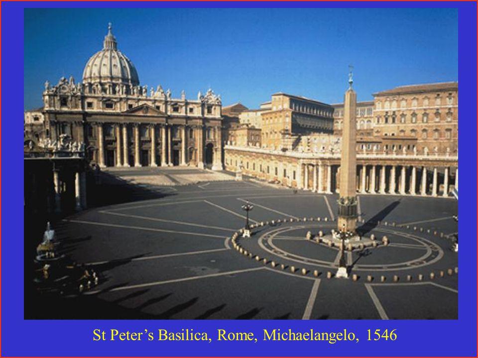 St Peter's Basilica, Rome, Michaelangelo, 1546