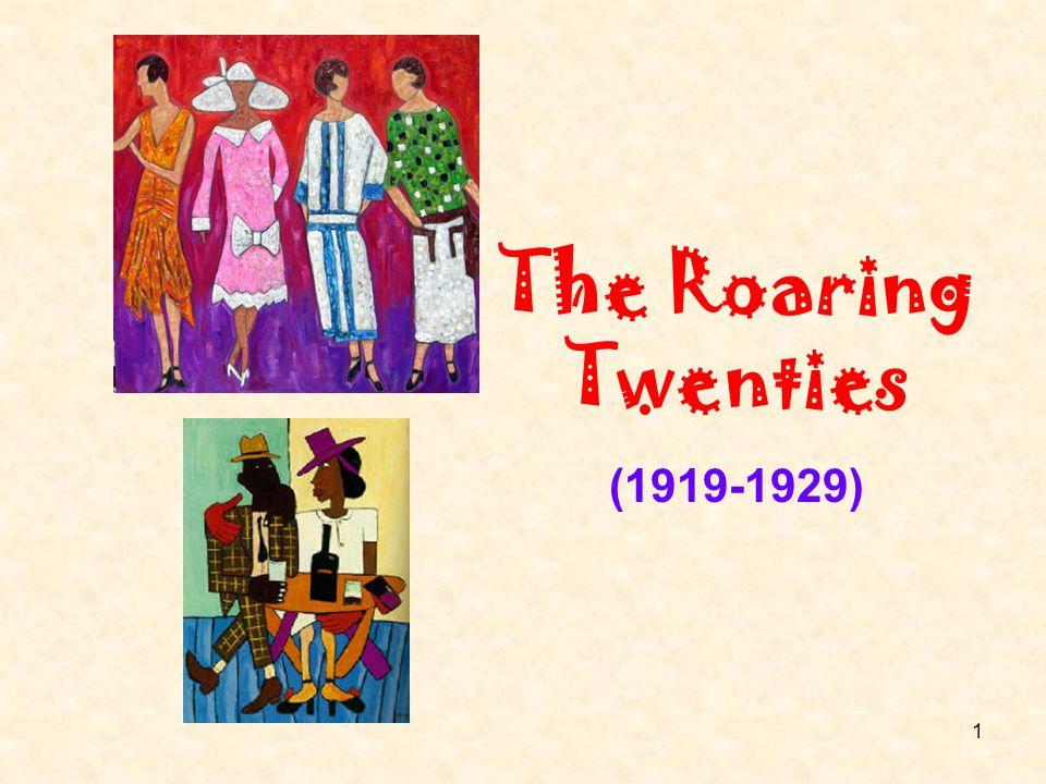 1 The Roaring Twenties (1919-1929)