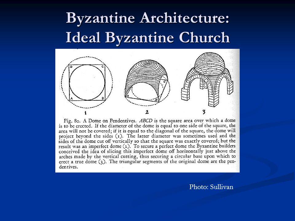 Byzantine Architecture: Ideal Byzantine Church Photo: Sullivan