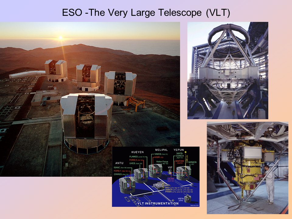 ESO -The Very Large Telescope (VLT)
