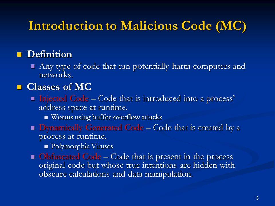 14 Proof of Concept Study (Sample Data – Benign)