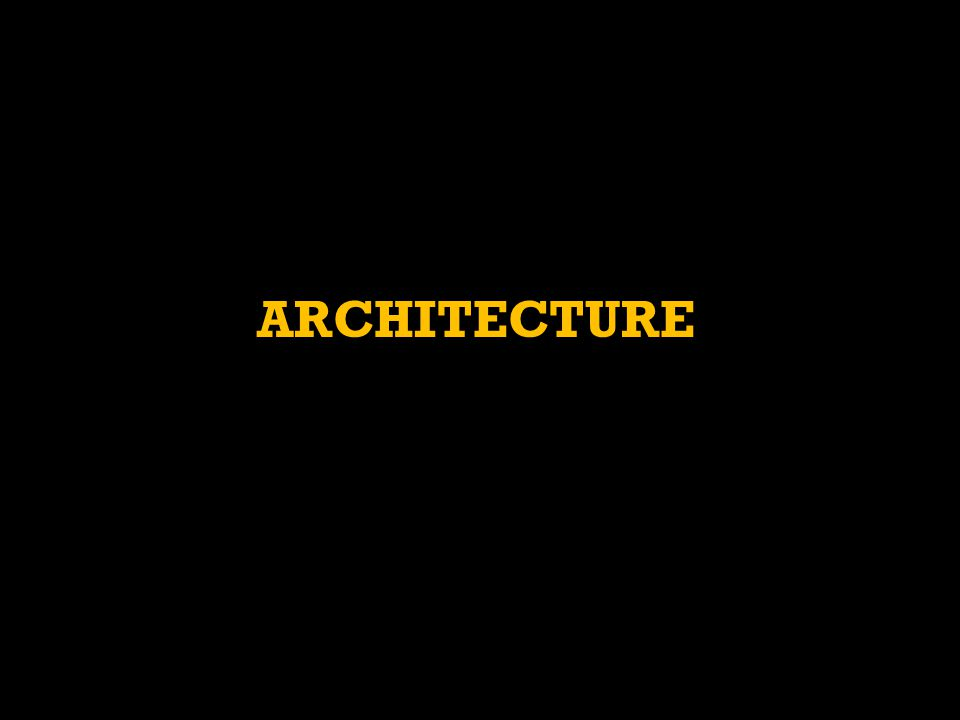 SPECIFIC GOALS:  GIVE EXAMPLES OF MAJOR ARCHITECTURAL PROJECTS UNDERTAKEN IN ITALY (MOSTLY ROME AND VENICE).