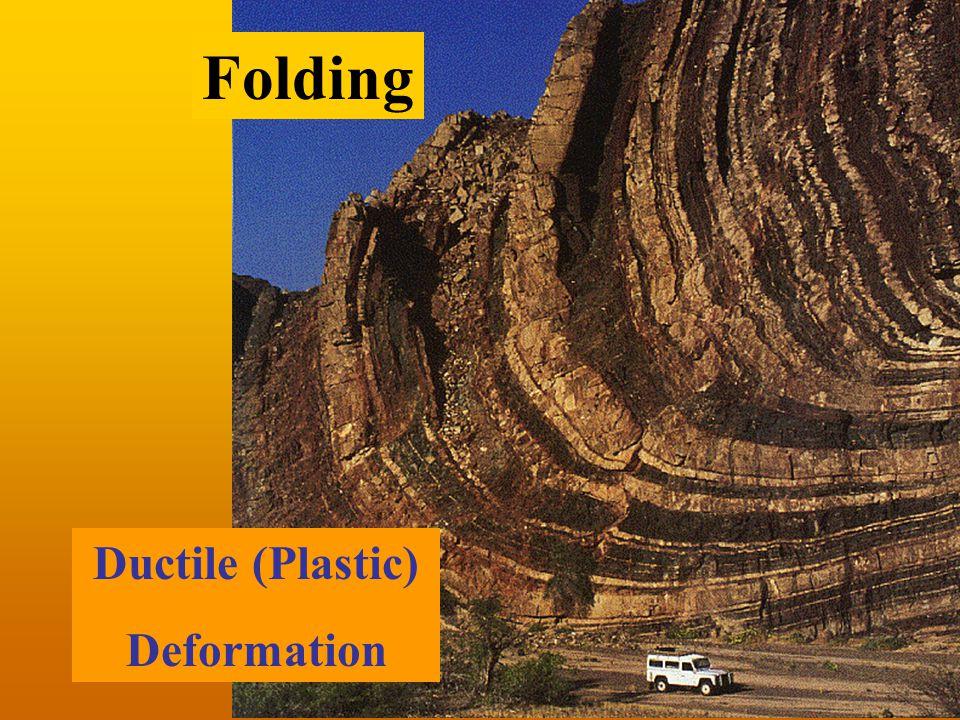 Ductile (Plastic) Deformation Folding