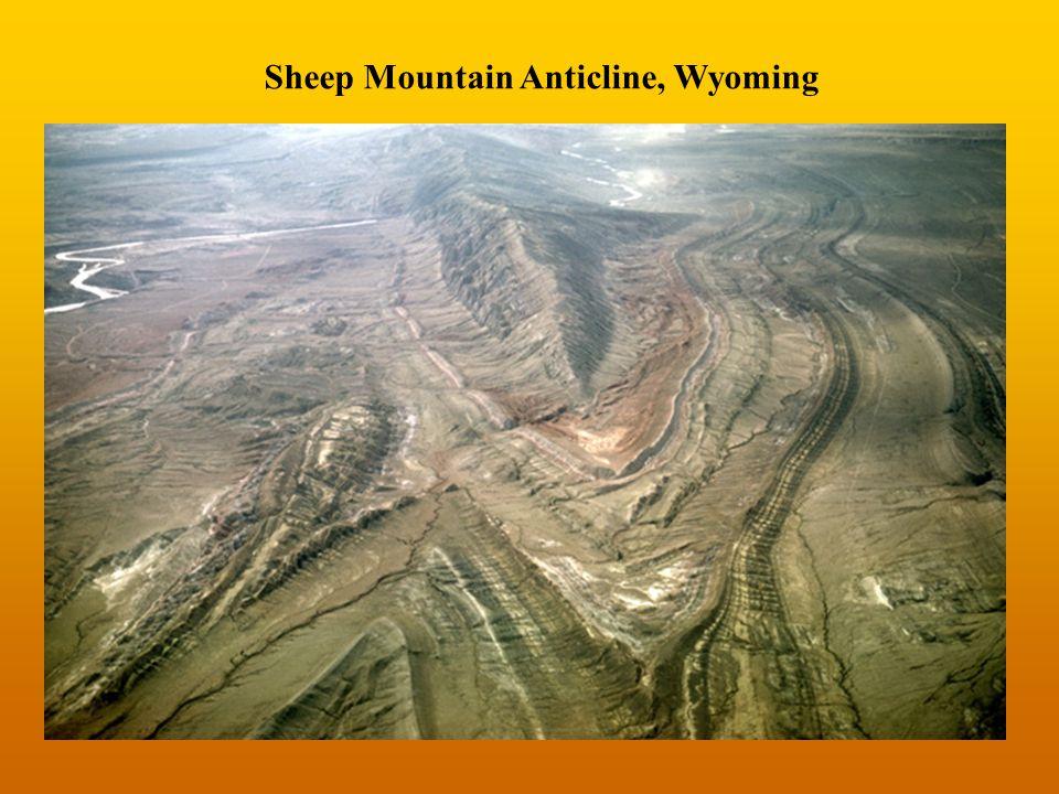 Sheep Mountain Anticline, Wyoming