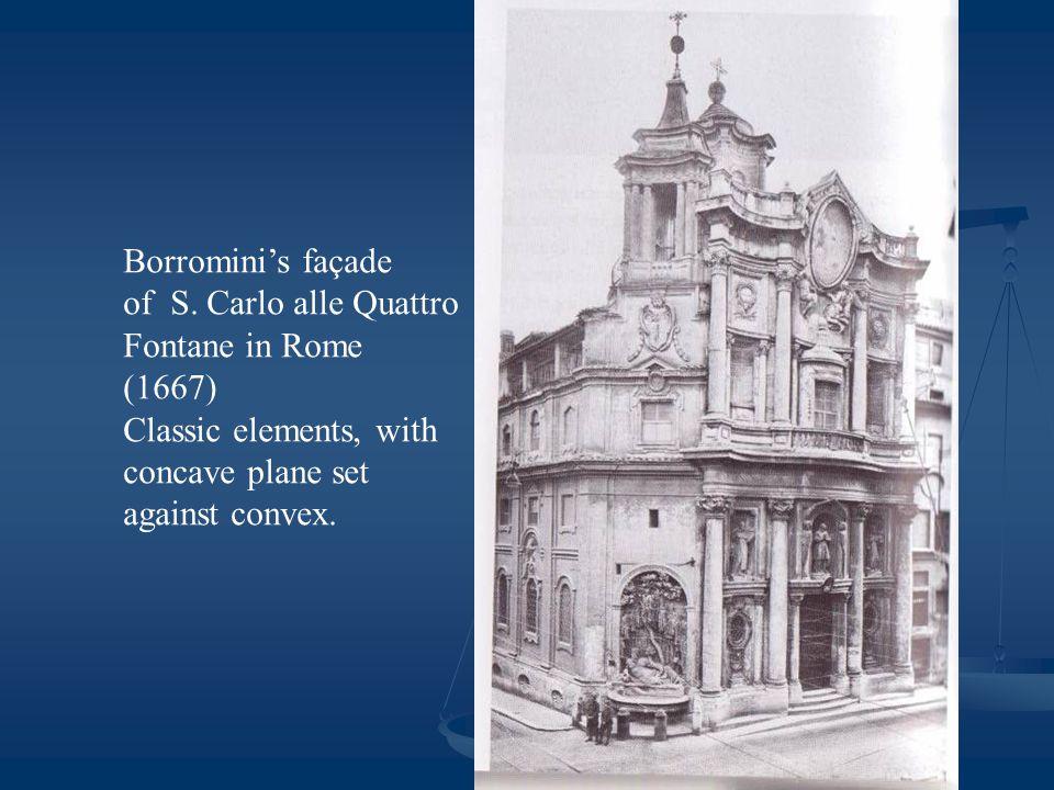 Borromini's façade of S.