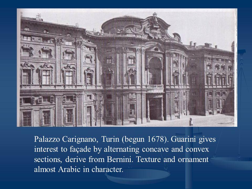 Palazzo Carignano, Turin (begun 1678).