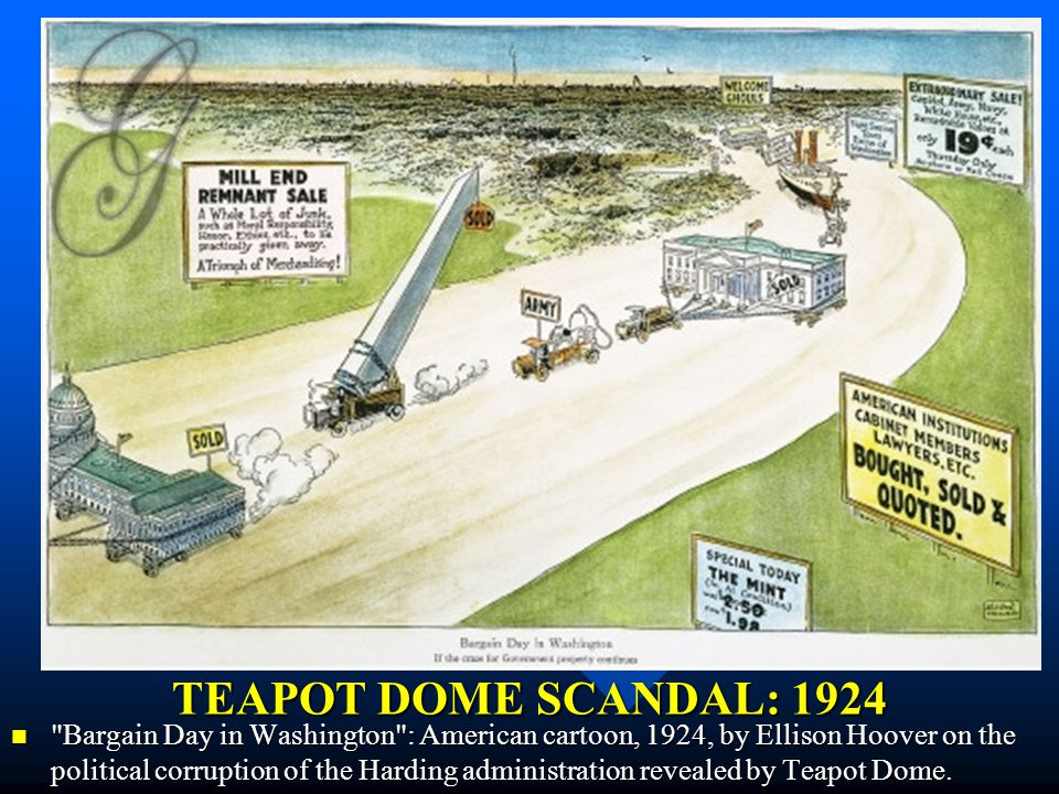 Teapot Dome Scandal Findings It was found that in 1921, Doheny had lent Fall $100,000, interest-free, and that upon Fall's retirement as Secretary of