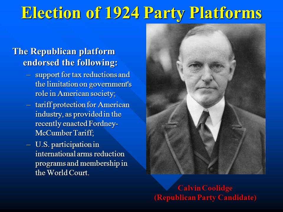 Coolidge Administration Calvin Coolidge took the oath of office from his father, a justice of the peace in Plymouth Notch, Vermont, on the day followi