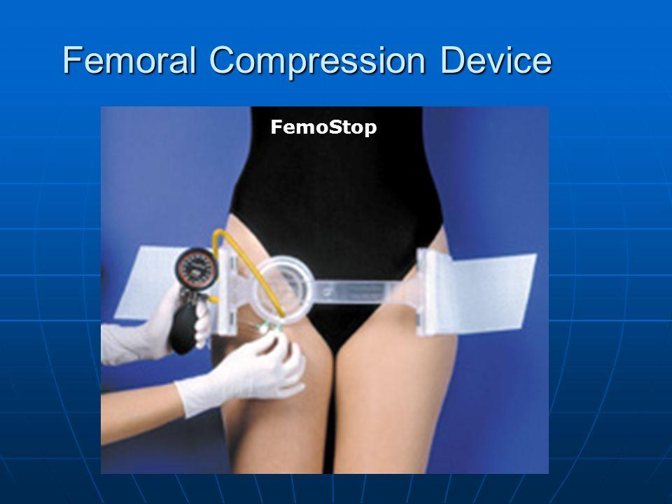 Femoral Compression Device FemoStop