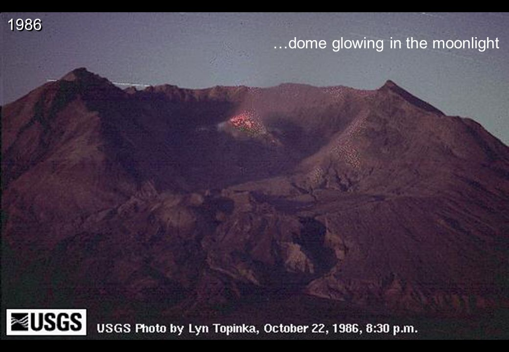 …dome glowing in the moonlight 1986