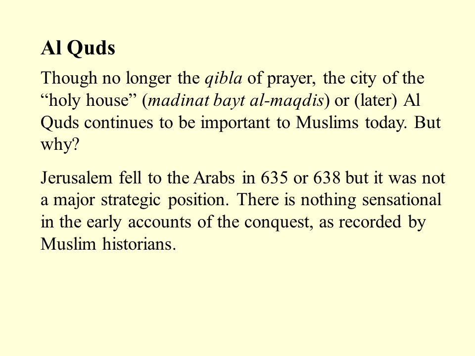 J'lem in the Qur'an Jerusalem is not mentioned in the Qur'an.