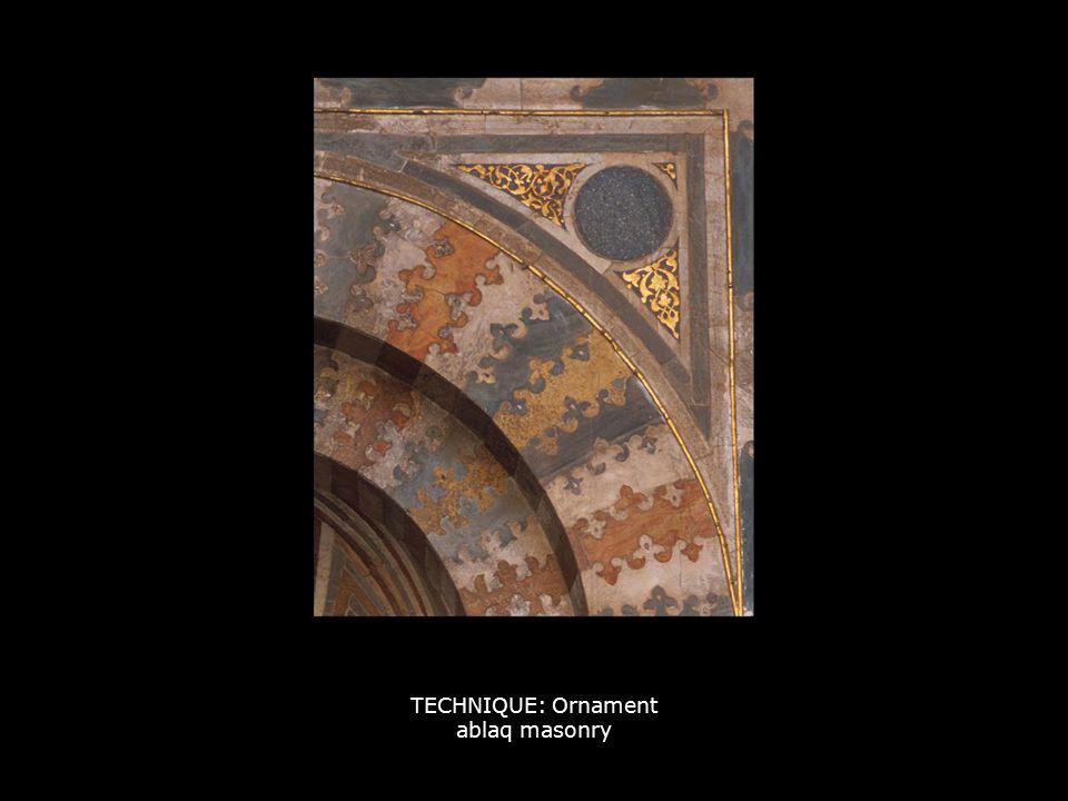 TECHNIQUE: Ornament ablaq masonry