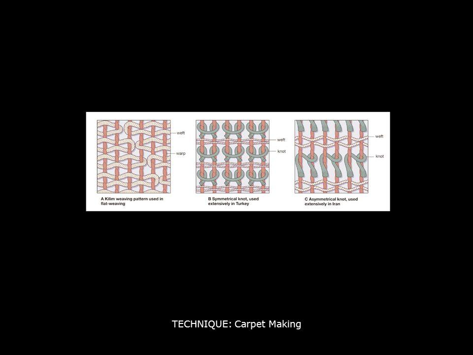 TECHNIQUE: Carpet Making