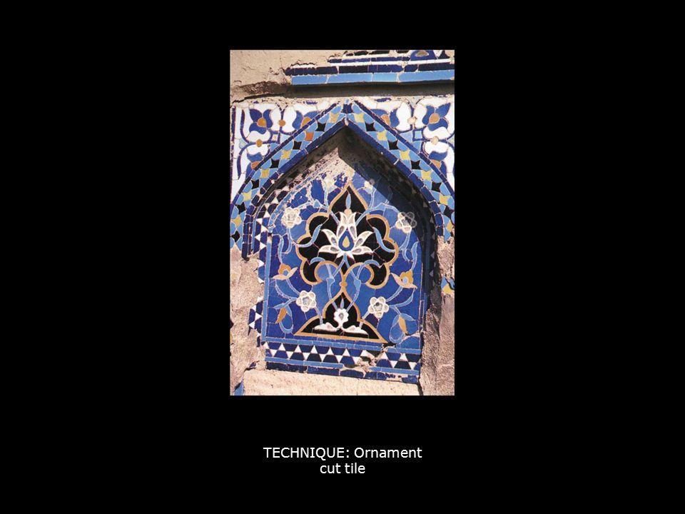 TECHNIQUE: Ornament muqarna