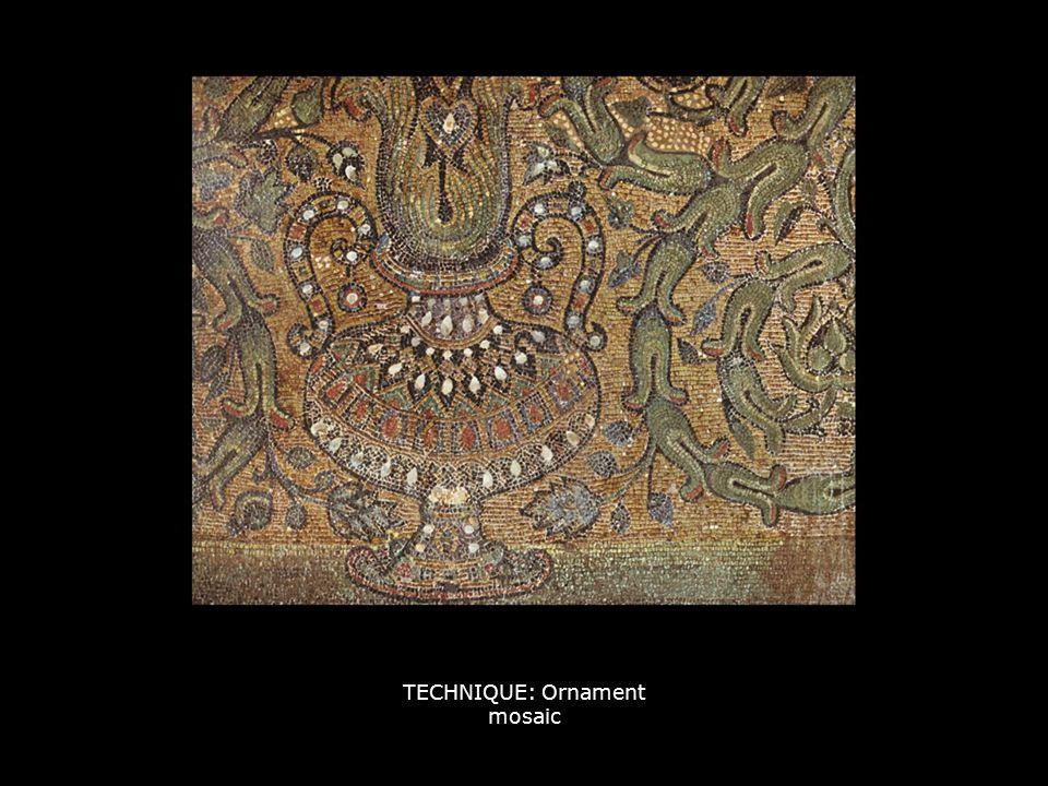 TECHNIQUE: Ornament mosaic