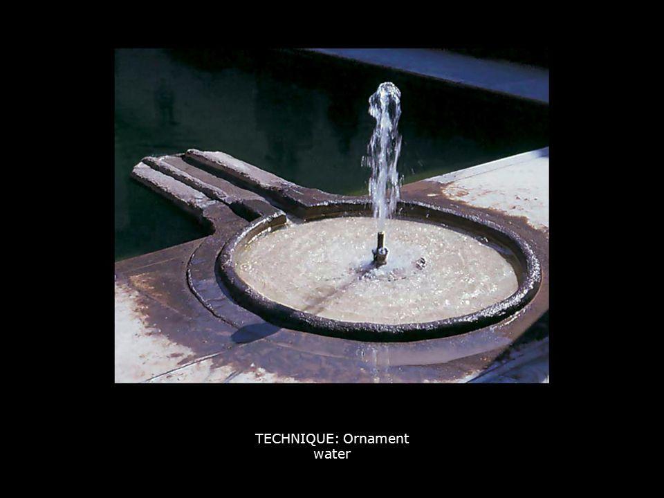 TECHNIQUE: Ornament water