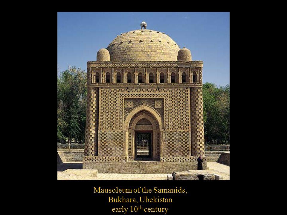 Mausoleum of the Samanids, Bukhara, Ubekistan early 10 th century