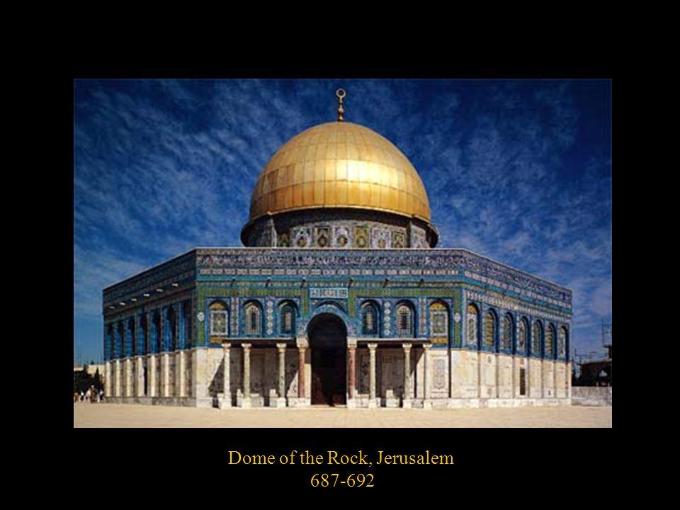 Dome of the Rock, Jerusalem 687-692