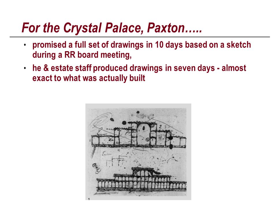 For the Crystal Palace, Paxton…..