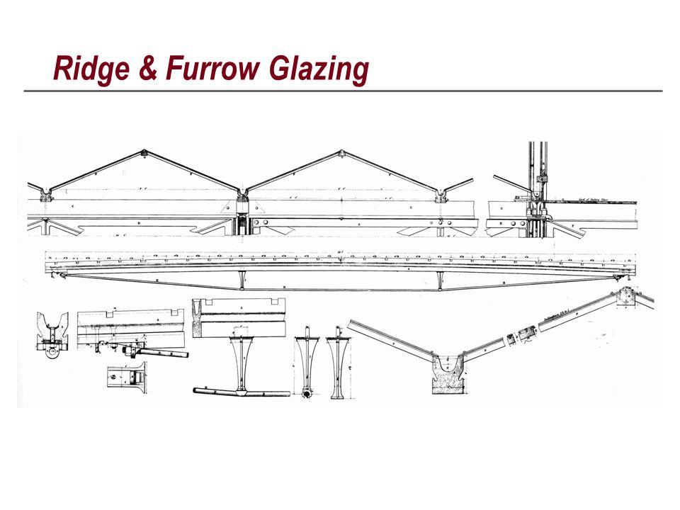 Ridge & Furrow Glazing