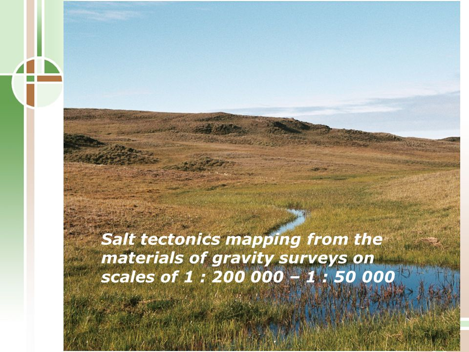 Salt tectonics mapping from the materials of gravity surveys on scales of 1 : 200 000 – 1 : 50 000