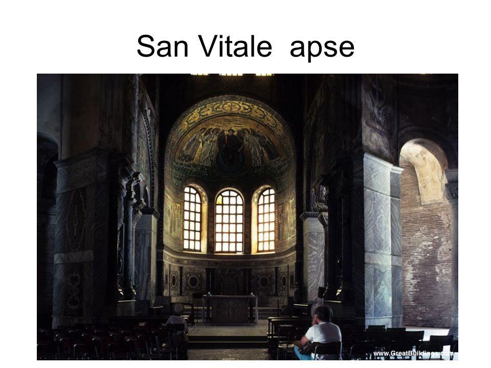 San Vitale apse