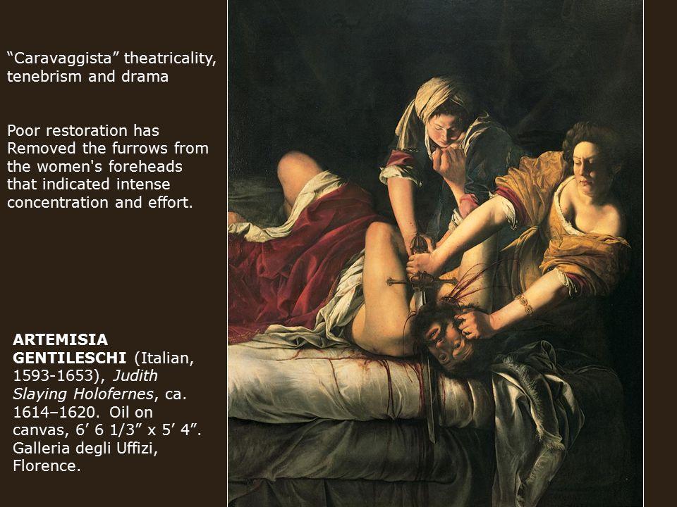 ARTEMISIA GENTILESCHI (Italian, 1593-1653), Judith Slaying Holofernes, ca.