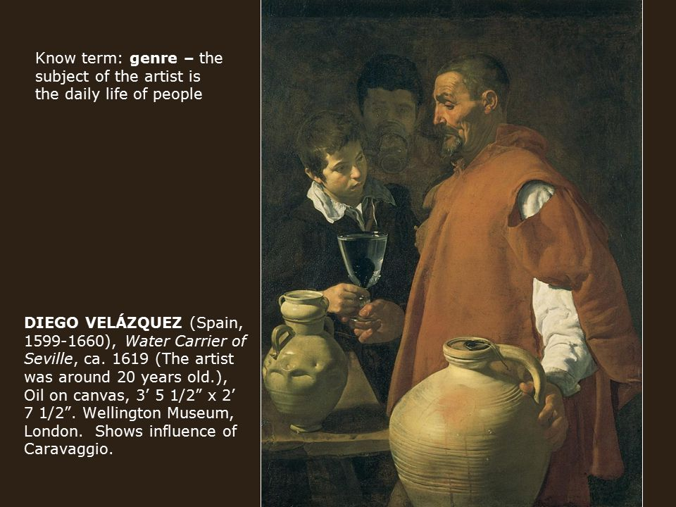DIEGO VELÁZQUEZ (Spain, 1599-1660), Water Carrier of Seville, ca.