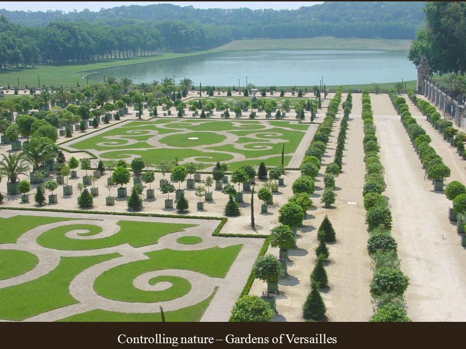 Controlling nature – Gardens of Versailles