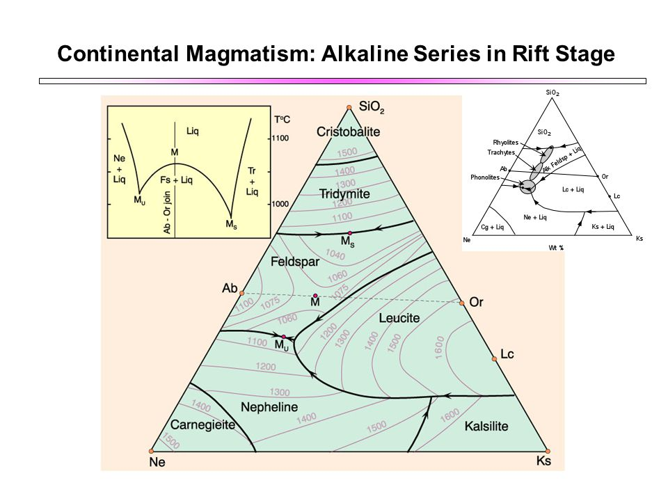Continental Magmatism: Alkaline Series in Rift Stage