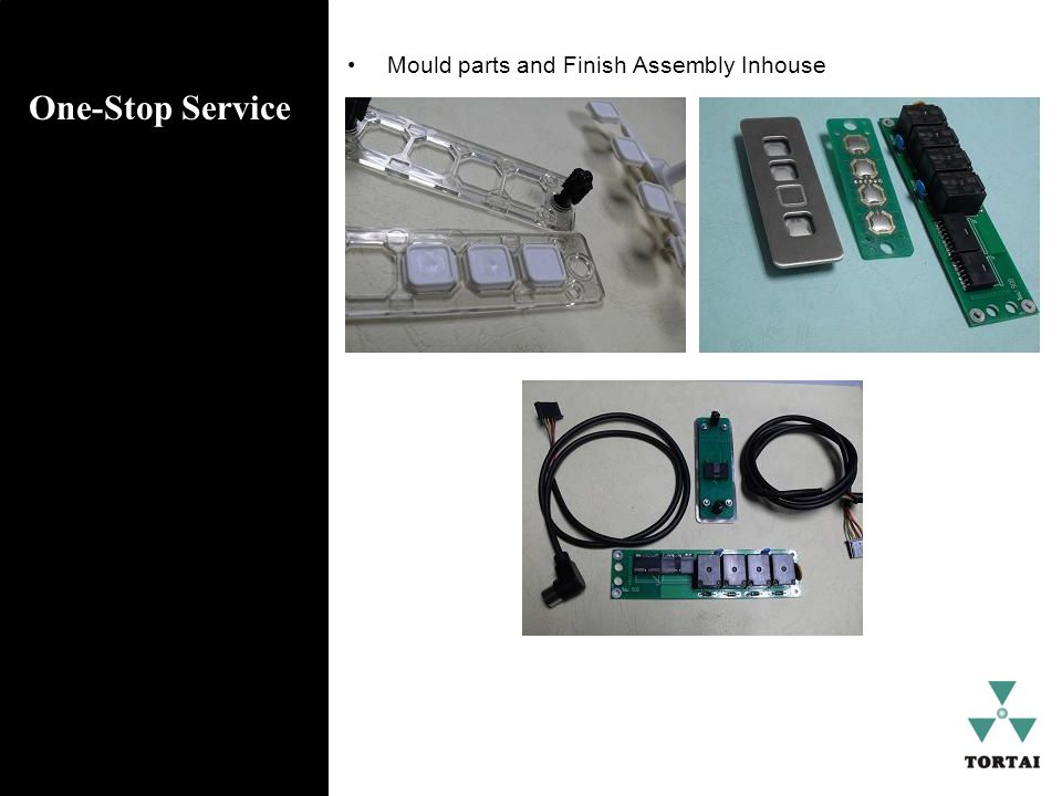 One-Stop Service Mould parts and Finish Assembly Inhouse