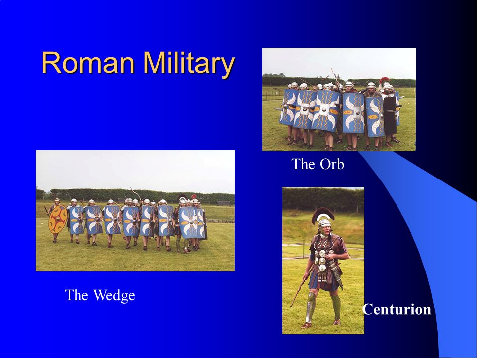 Roman Military The Wedge The Orb Centurion
