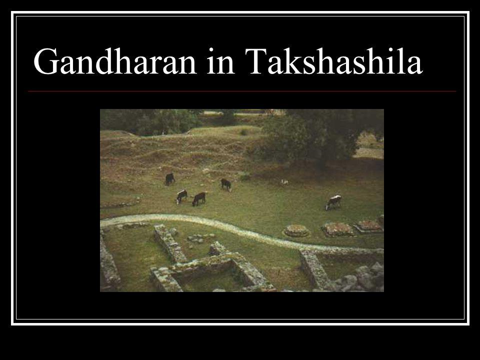 Gandharan in Takshashila