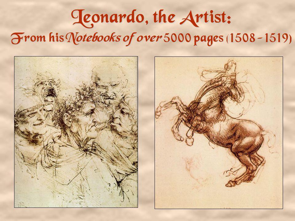 Leonardo, the Artist The Virgin of the Rocks Leonardo da Vinci 1483-1486