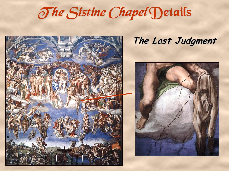 The Sistine Chapel Details The Fall from Grace