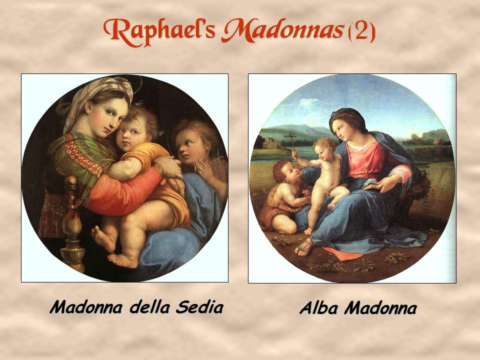 Raphael's Madonnas (1) Sistine Madonna Cowpepper Madonna