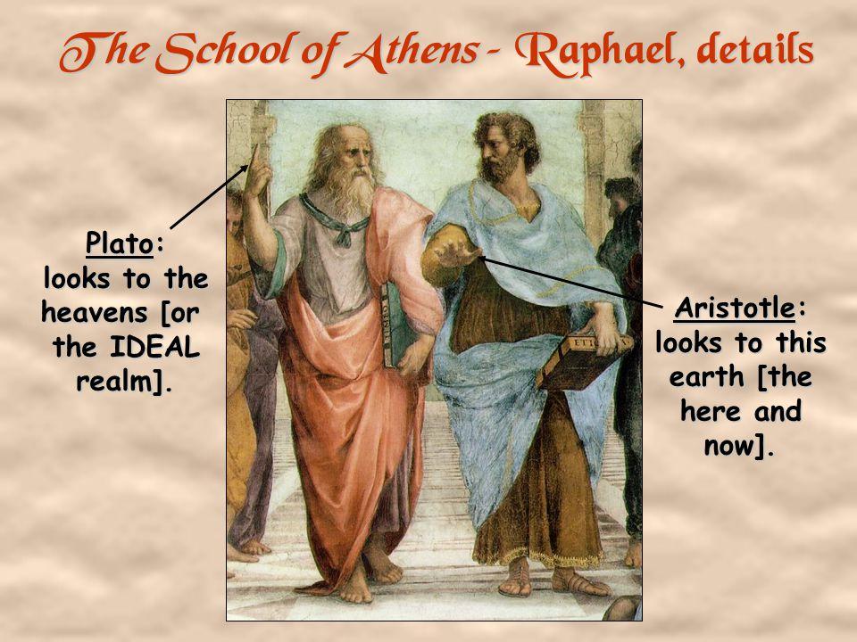 The School of Athens – Raphael, 1510 -11 Raphael Da Vinci Michelangelo