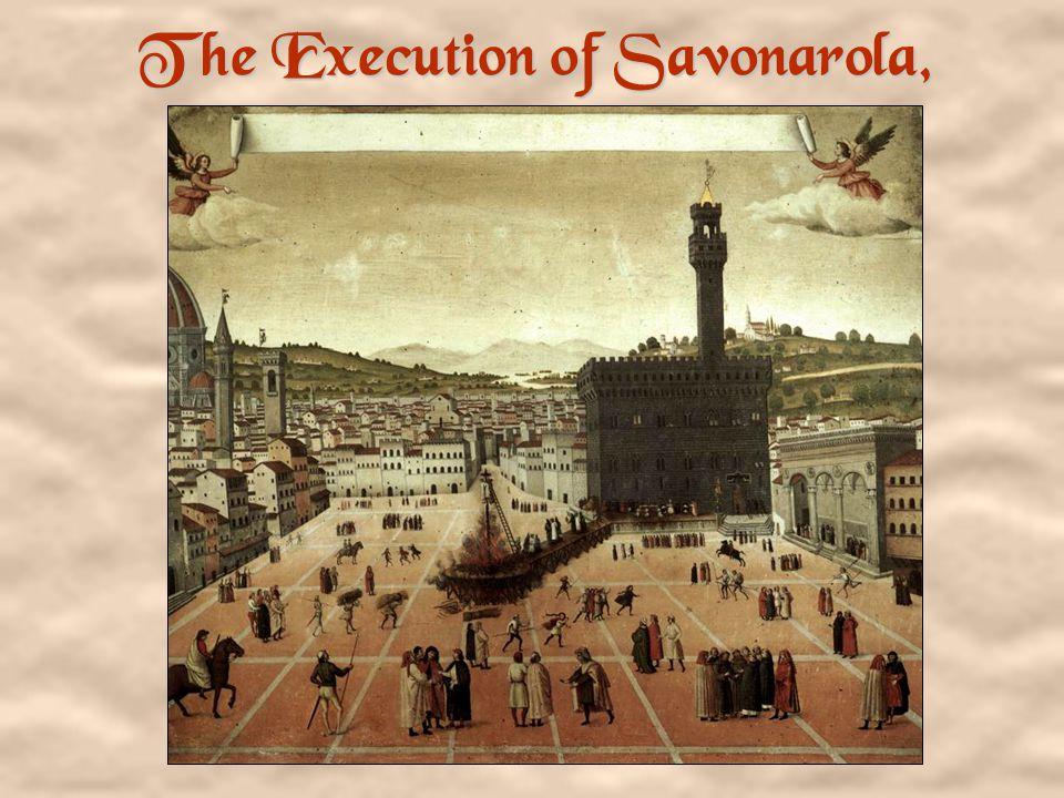 A Portrait of Savonarola By Fra Bartolomeo, 1498.