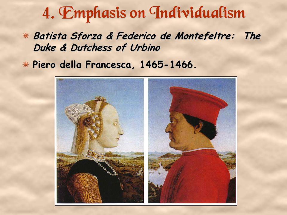 3. Classicism Greco-Roman influence. Secularism.
