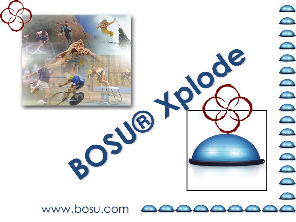 www.bosu.com BOSU® Xplode