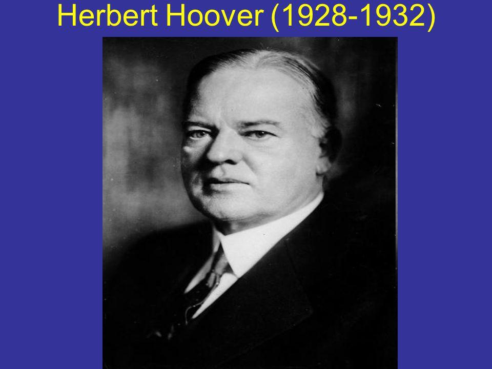 Herbert Hoover (1928-1932)