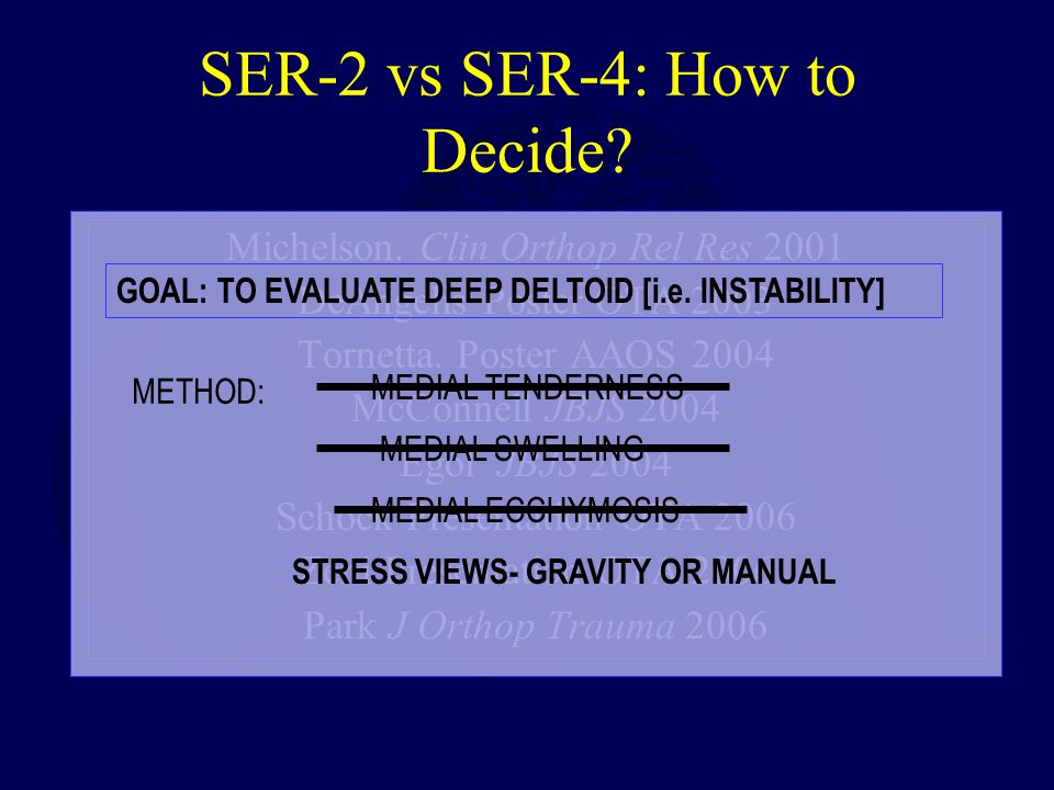 SER-2 vs SER-4: How to Decide.Michelson.