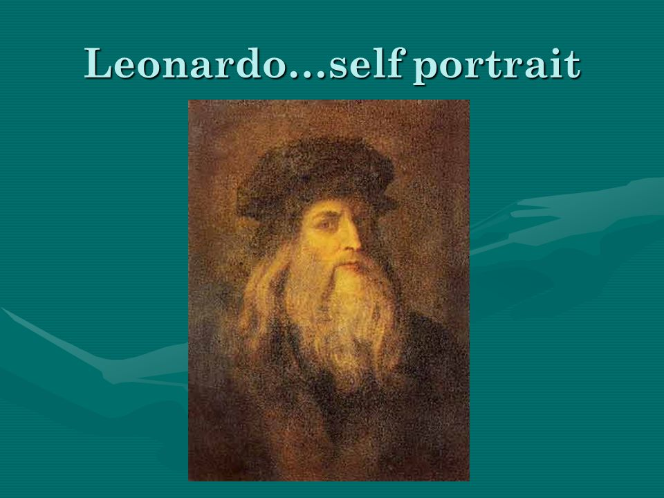 Leonardo…self portrait