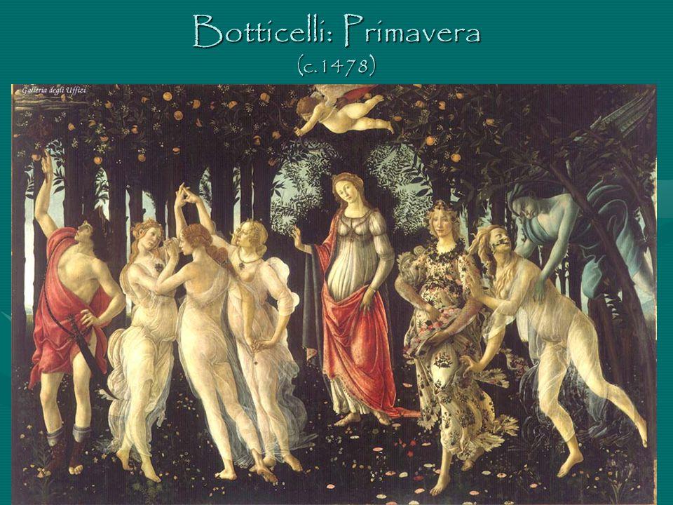 Botticelli: Primavera (c.1478)