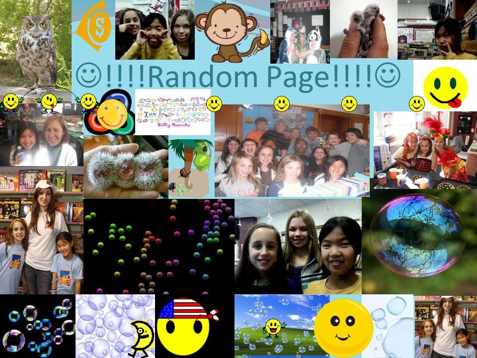 !!!!Random Page!!!!