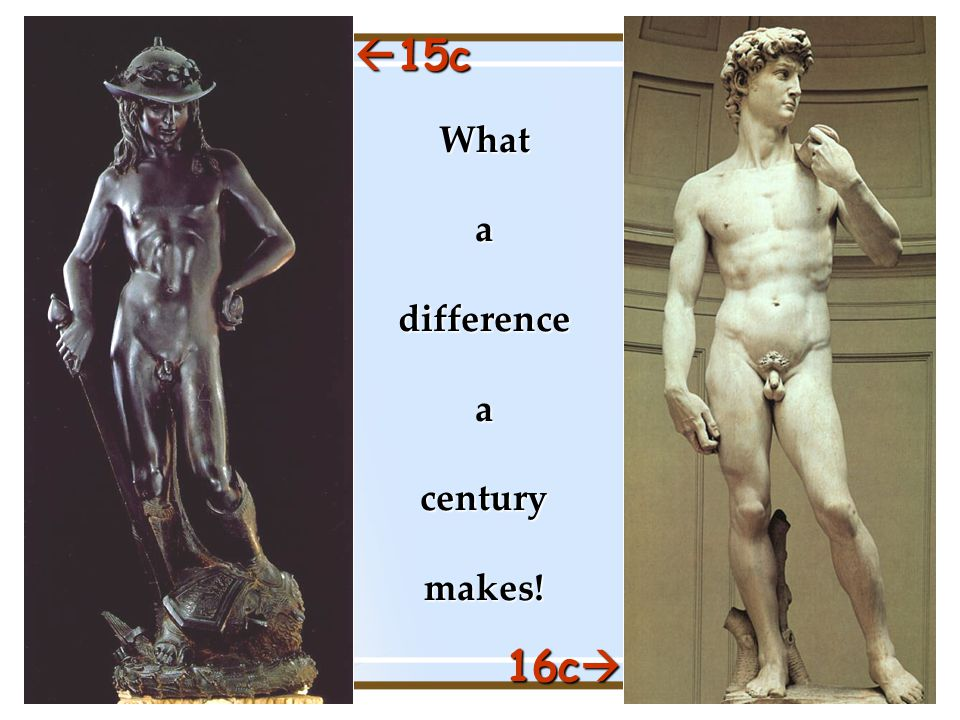  15c 16c  What a difference a century makes!
