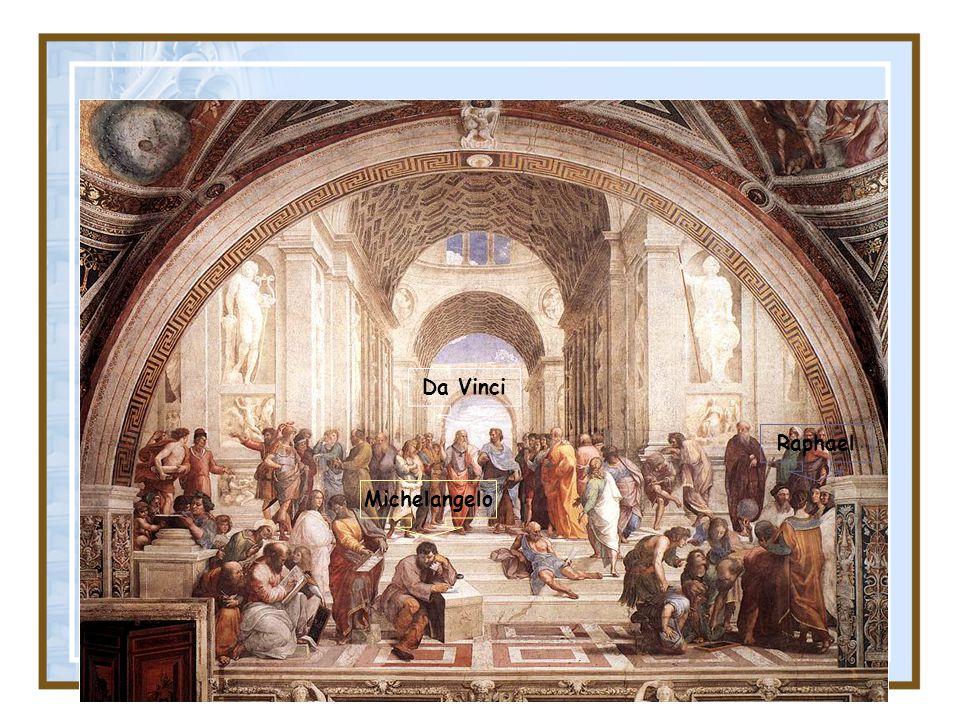 Raphael Da Vinci Michelangelo