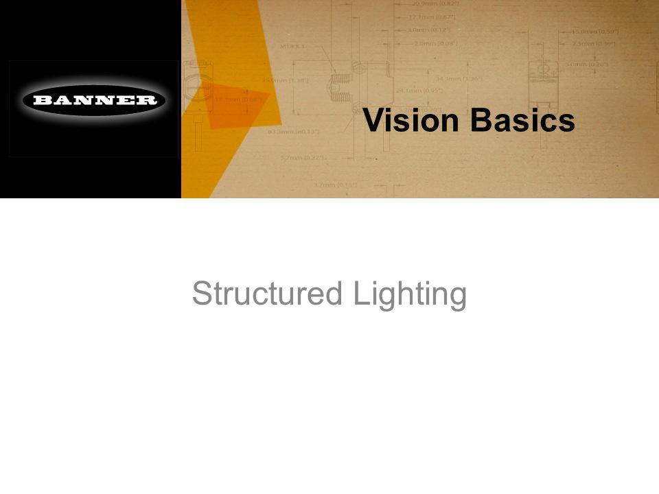 Vision Basics Structured Lighting